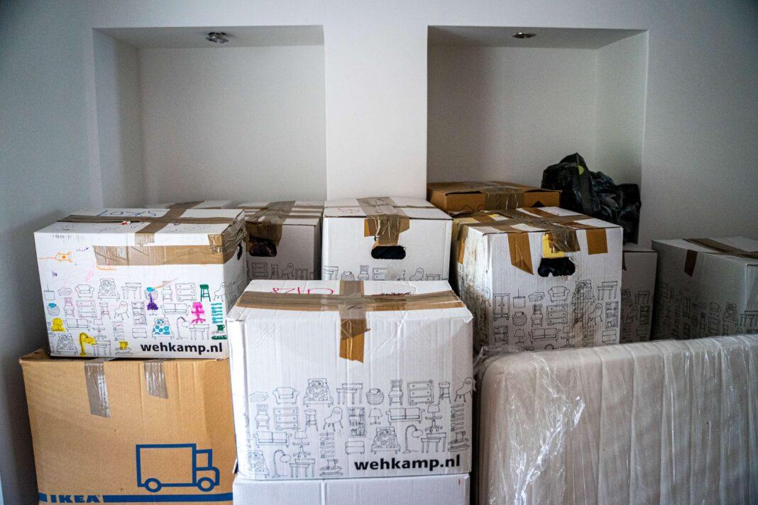 flyttekasse, papkasser, raja pack